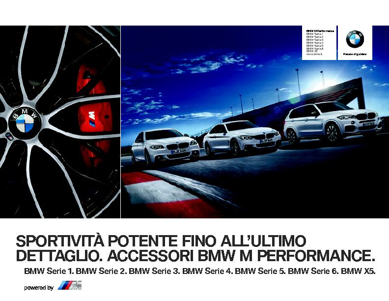 Catalogo Accessori Originali BMW M Performance