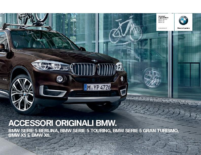 Catalogo Accessori Originali BMW Serie5 X5 X6