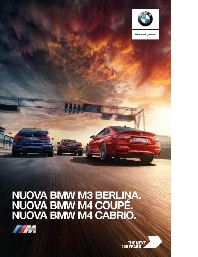 Catalogo BMW M3Berlina M4Coupe M4Cabrio