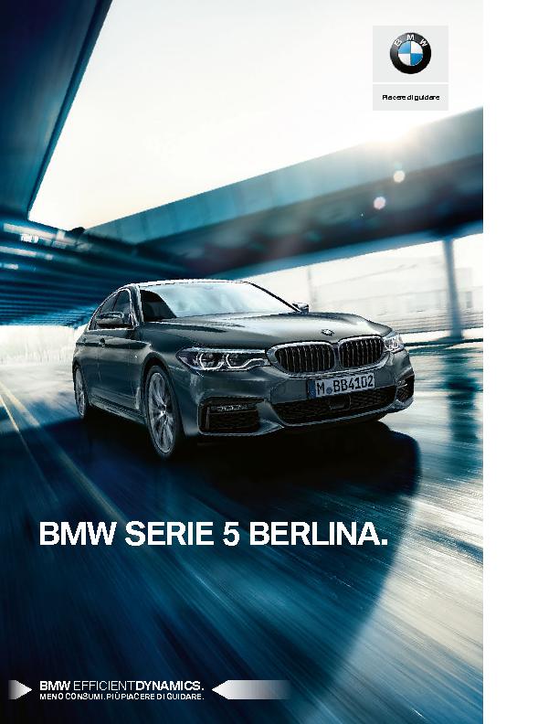 Catalogo BMW Serie5 Berlina
