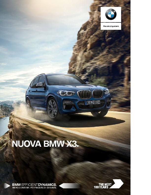 Catalogo BMW X3