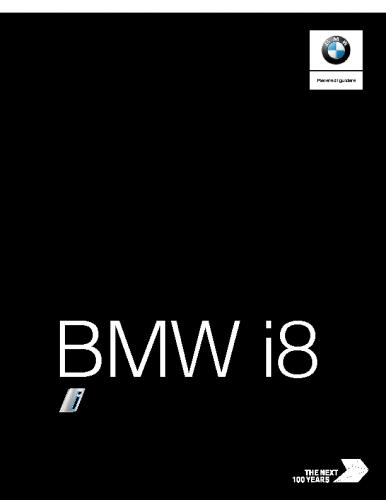 Catalogo BMW i8