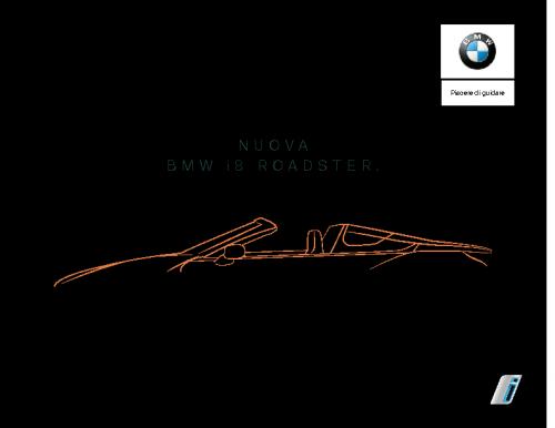 Catalogo BMW i8 Roadster