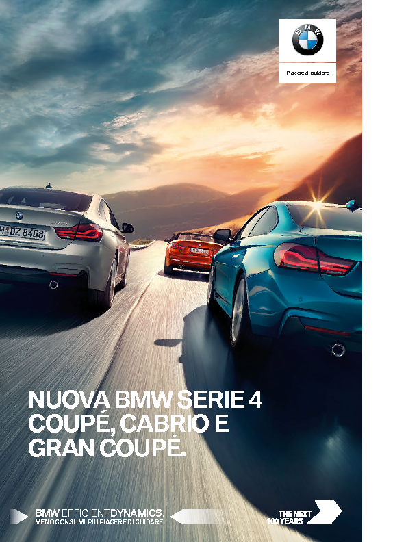 Catalogo BMW serie 4 Coupe Cabrio Gran Coupe