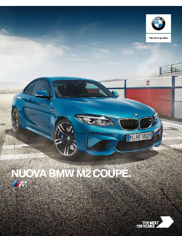 Catalogo Nuova BMW M2 Coupe