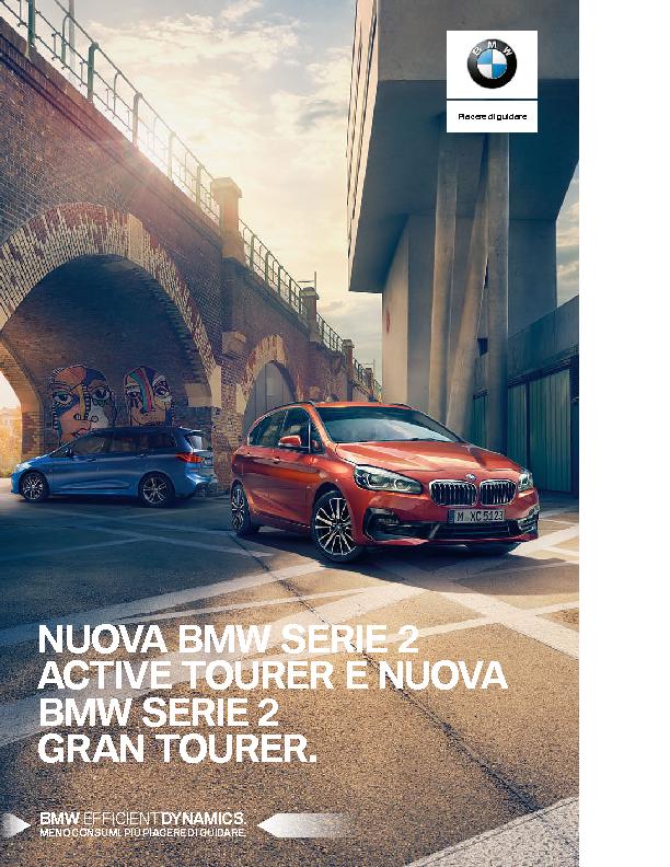 Catalogo Nuova BMW Serie2 ActiveTourer e Nuova BMW Serie2 GranTourer