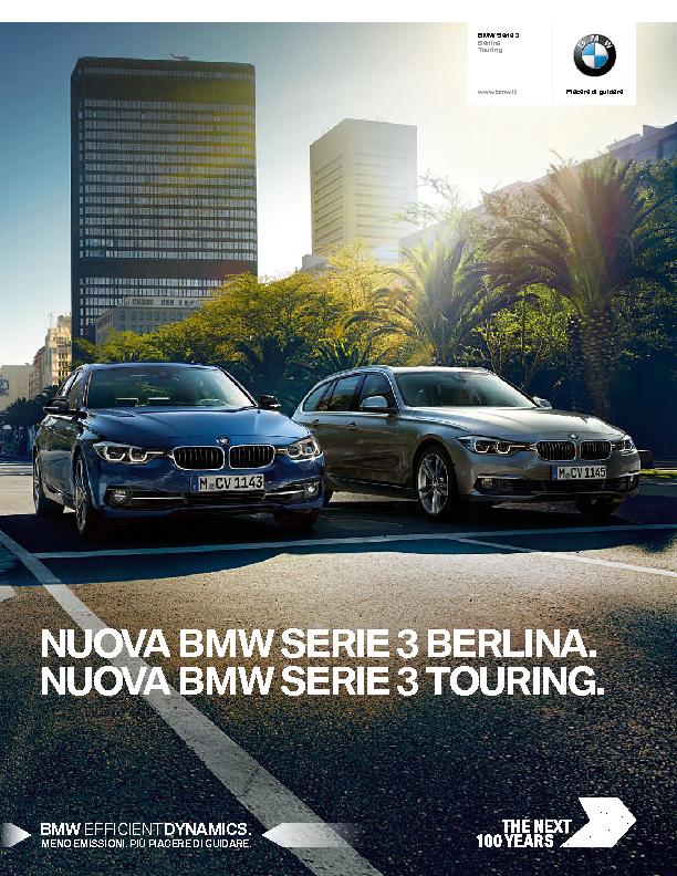 Catalogo Nuova BMW Serie3 Belina Touring