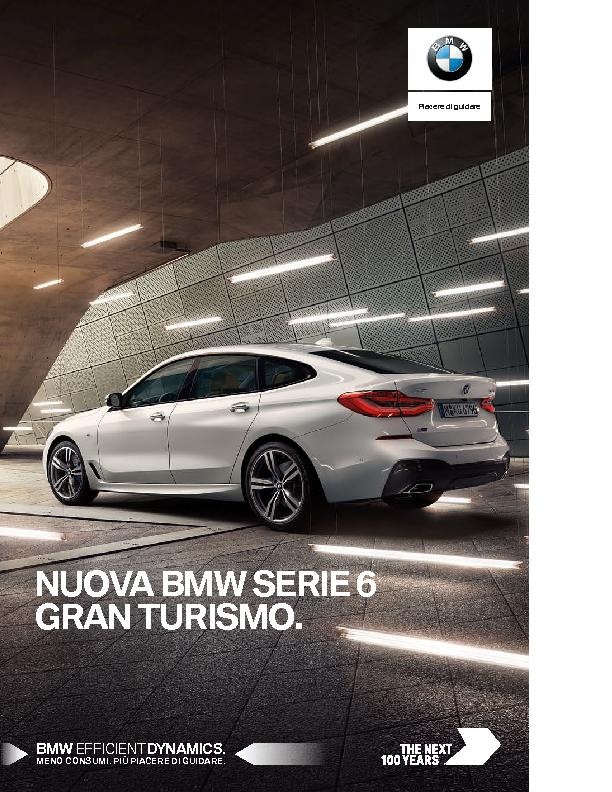 Catalogo Nuova BMW Serie 6 Gran Turismo