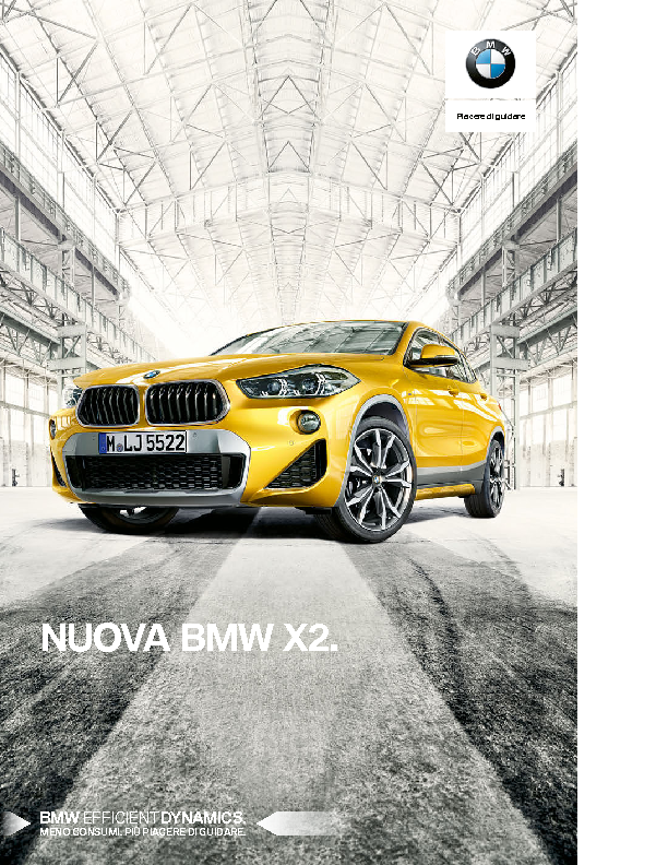Catalogo Nuova BMW X2