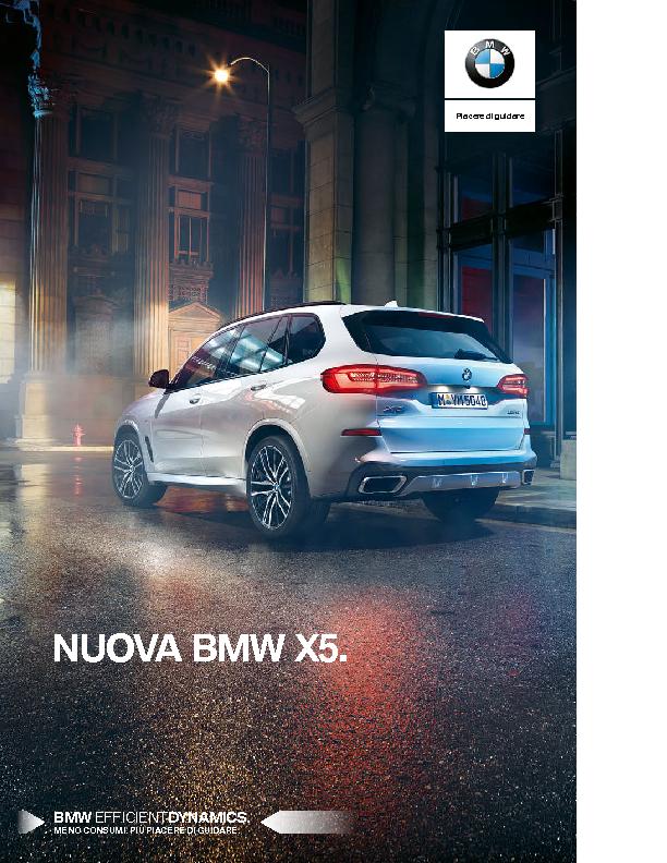 Catalogo Nuova BMW X5