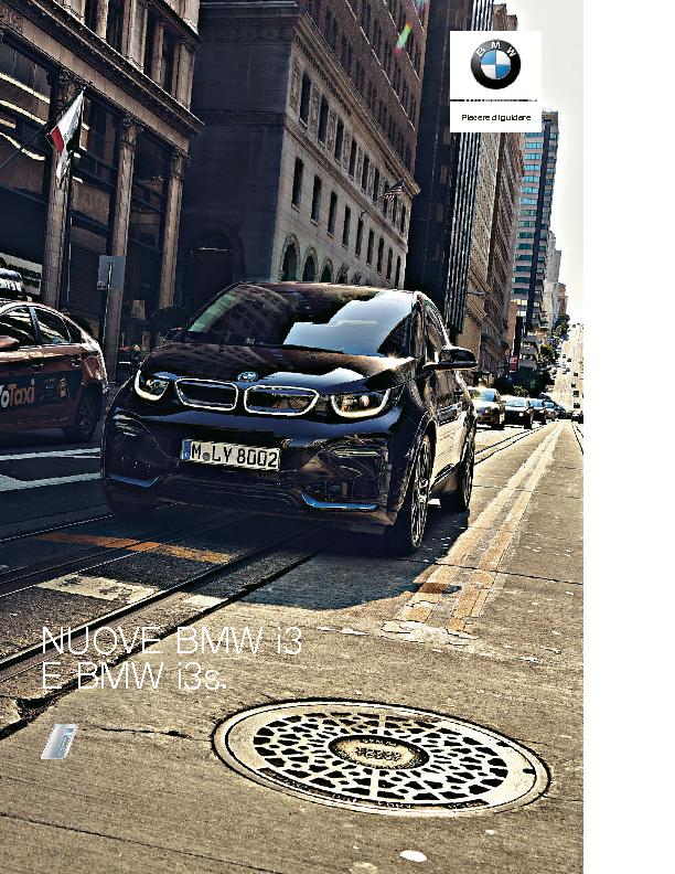 Catalogo Nuove BMW i3 e BMW i3s